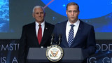 NASA's new Administrator Jim Bridenstine sworn in by vice president