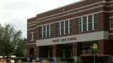 Students return to Forest High School days after on-campus shooting