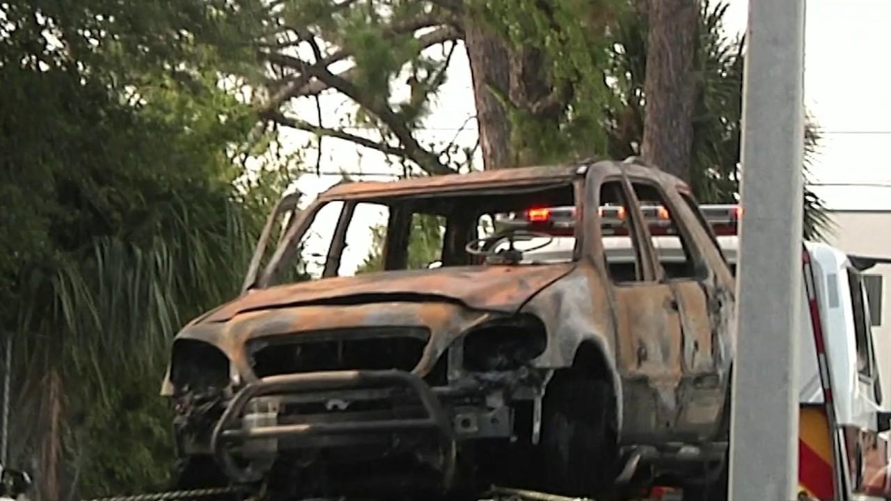 Body Found In Burning Car At Orlando Apartments