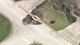 Sinkholes open near homes in The Villages -- again