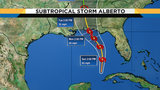 Rain from Subtropical Storm Alberto expected to begin Saturday night
