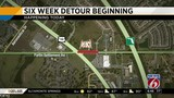 6-week detour for drivers in Osceola County