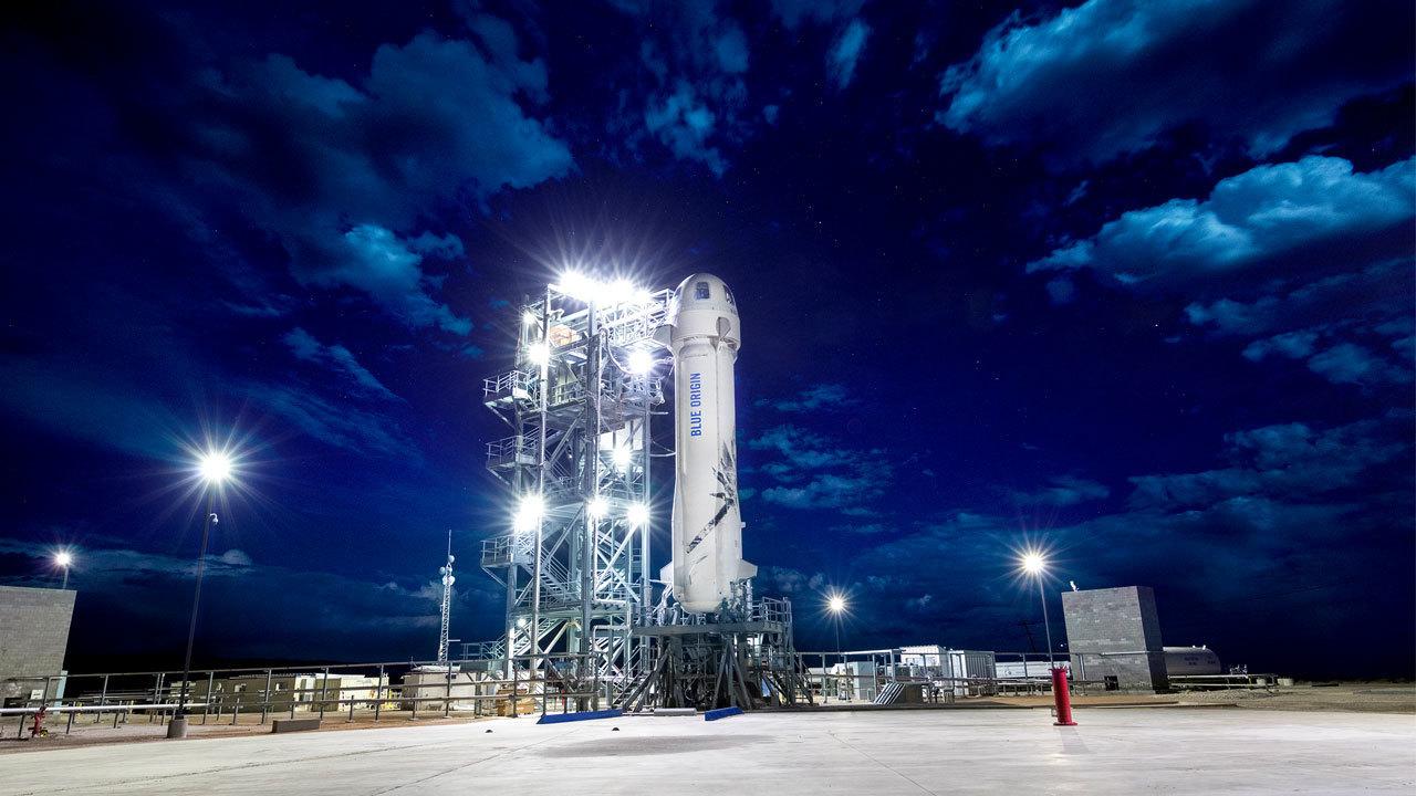 Jeff Bezos Blue Origin Launches Spacecraft Higher Than Ever