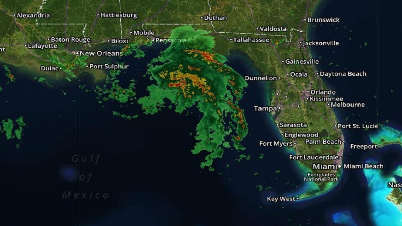 Live Radar Track Gordon Forecast To Become Hurricane New
