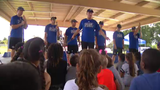 Tampa Bay Lightning hosts hockey clinics for local students