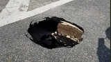 7-foot deep hole in Goldenrod Road forces lane closures