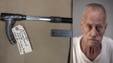 Leesburg man accused of pulling hidden sword from cane, swinging it at woman