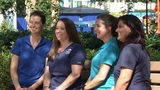 Behind the scenes with SeaWorld's all-female veterinarian team