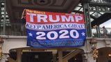 Video: 'Re-Elect Trump' banner displayed at Magic Kingdom