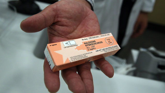 Rhode Island encourages residents to carry opioid-overdose antidote