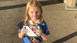 Selling cookies in marijuana line? Enterprising 9-year-old girl did just that