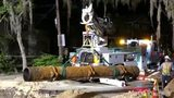 Crews work to fix broken pipe in Lake Eola Heights