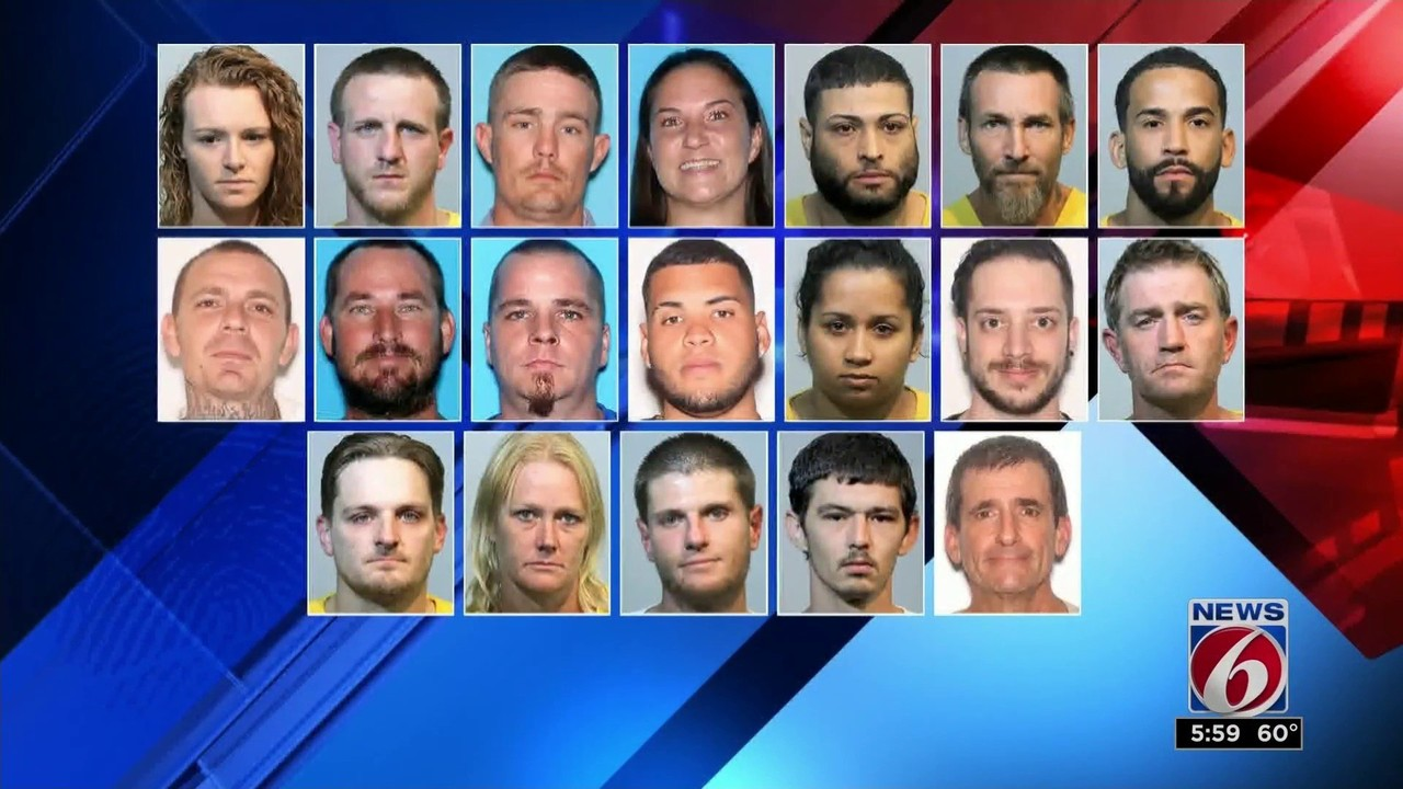 19 arrests made in opioid ring busts, Seminole County sheriff