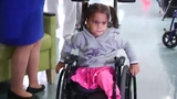 WATCH: 3-year-old walks for first time after getting new legs