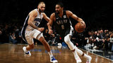 Magic fall at Brooklyn, 114-110, behind Russell's double-double
