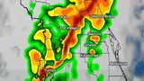 Pinpoint forecast: Cold front bringing storms through Orlando area