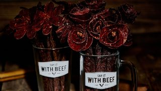 Best Valentine's Day ever? You can now send someone a bouquet made of beef jerky