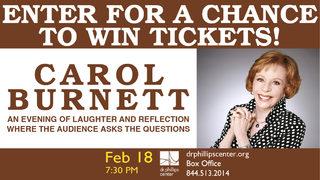 Carol Burnett contest