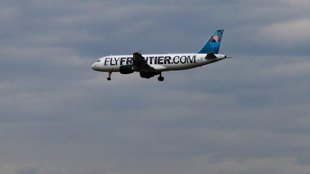 Report: Woman arrested on Frontier flight after complaining of vomit in&hellip&#x3b;