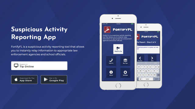 How to use the Fortify Florida app to anonymously report school threats