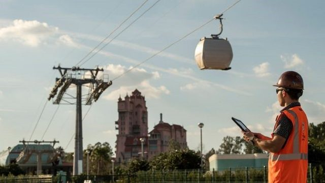Disney World Skyliner gondolas open to visitors this weekend