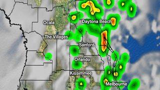 Heavy rain soaks parts of Central Florida