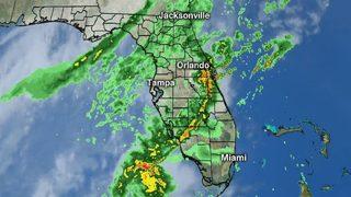 More rain falls across Orlando area