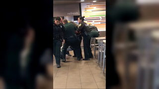 Orange County deputies injured during scuffle inside McDonald's