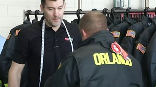 Orlando firefighters sized for safer gear