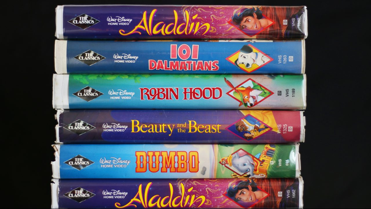 Own any of these old Disney VHS tapes? You could be sitting