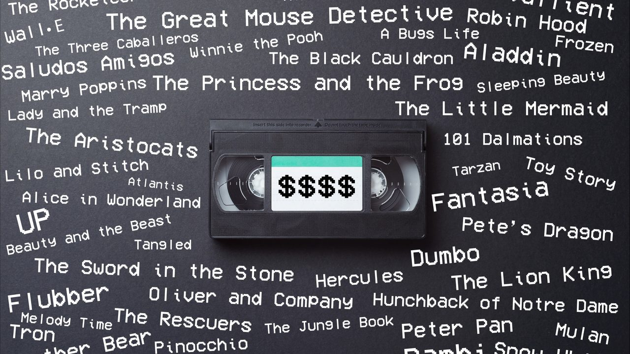 Own any of these old Disney VHS tapes? You could be sitting on big bucks
