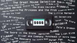 Own any of these old Disney VHS tapes? You could be sitting on up to $6,000