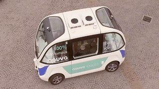 Video: The Autonom Shuttle by Navya