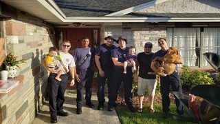 Kissimmee firefighters revive toddler after near-drowning