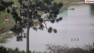 Video: Road Ranger rescues man from Orlando pond