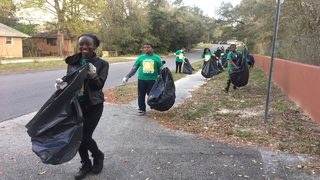 'We're working with them and try to lift them up': Students clean up&hellip&#x3b;