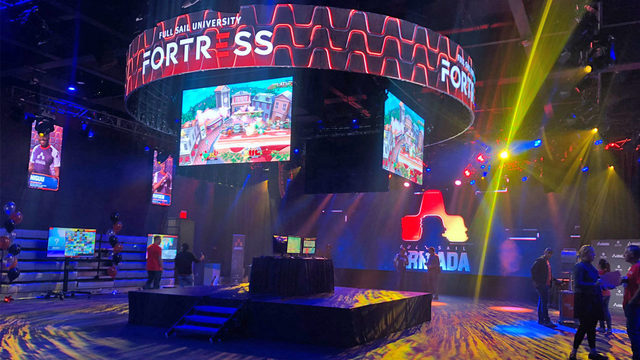 Full Sail opens largest college campus e-sports arena