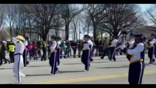 Lake Weir Marching Band performs in historic parade