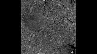 OSIRIS-REx sample collection path