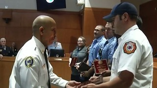 Kissimmee crews honored for rescuing toddler