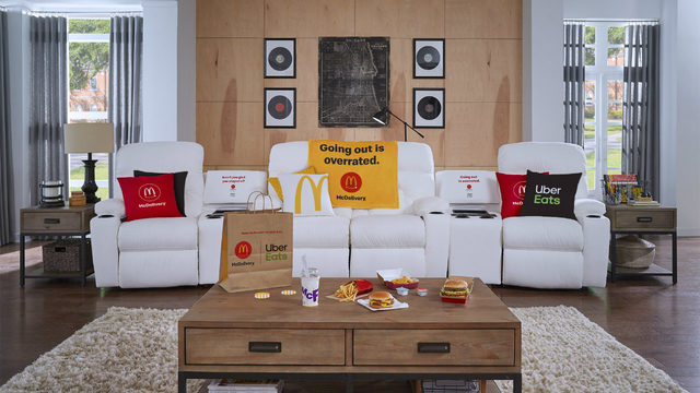 McDonald's starts insane dream couch sweepstakes
