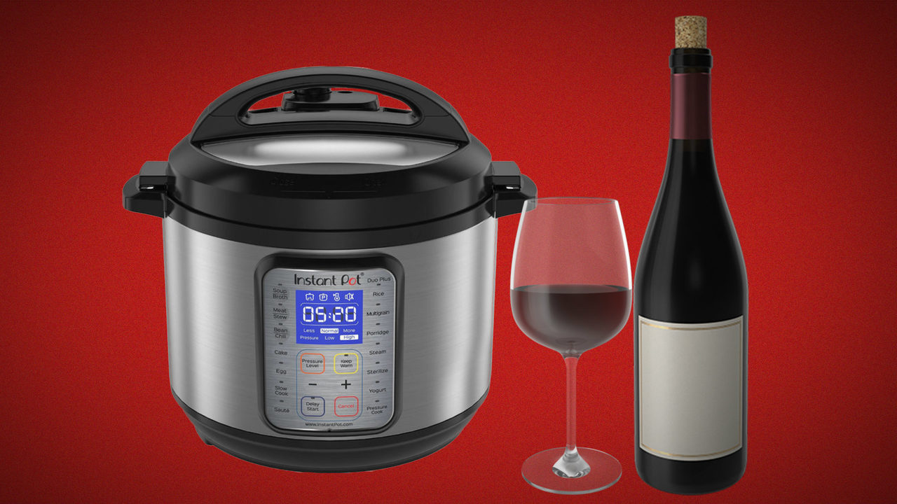 You can now make wine in your Instant Pot