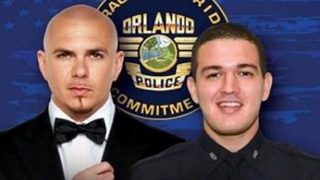 Free Pitbull concert in Orlando to benefit Officer Valencia