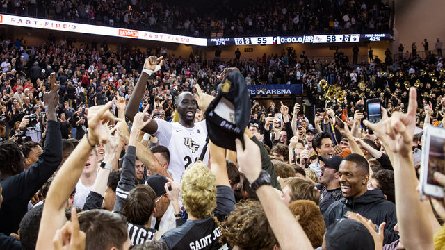 Game's tallest player Tacko Fall and UCF ready for NCAAs