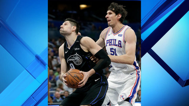 Vucevic scores 28 points in Orlando's 119-98 win against Philadelphia