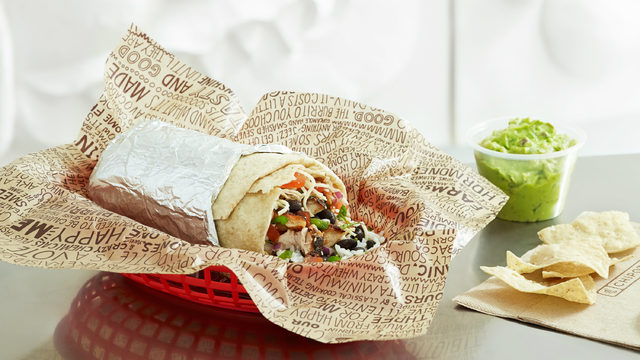 Chipotle is giving away free burritos during the 2019 NBA Finals