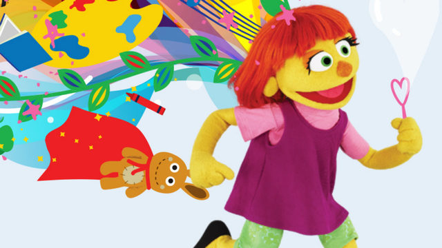 Meet the fresh face of autism awareness: Julia, from 'Sesame Street'