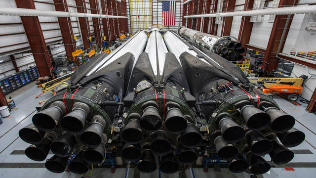 Coming up: First night launch for Falcon Heavy
