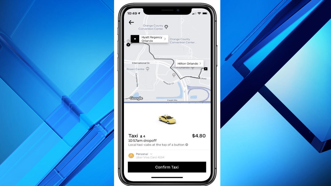 Booking Mears taxis with Uber starts Friday in Orange County