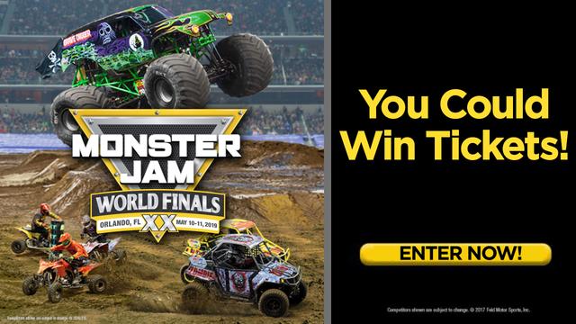 Monster Jam World Finals ticket giveaway